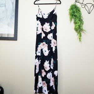 Lulus | Peony For Your Thoughts Floral Maxi Dress
